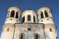 De Orthodoxe kathedraal van de beklimming in Zvenigorod Stock Fotografie