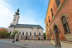 De orthodoxe Kathedraal van Heilige George Royalty-vrije Stock Afbeeldingen