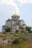 De orthodoxe kathedraal van heilige Vladimir in Hersones Stock Afbeelding
