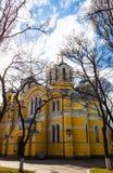 De orthodoxe kathedraal van heilige Volodymyr in Kyiv, de Oekraïne Royalty-vrije Stock Fotografie