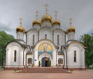 De Orthodoxe kathedraal van Sinterklaas Stock Afbeeldingen
