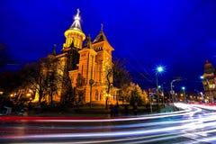 De Orthodoxe Kathedraal van Timisoara, Roemenië royalty-vrije stock afbeeldingen