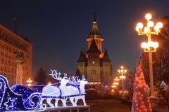 De Orthodoxe Kathedraal van Timisoara, Roemenië 2 Stock Afbeeldingen