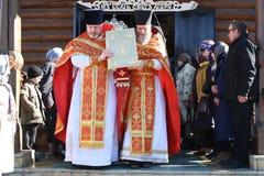 De orthodoxe kerk Royalty-vrije Stock Afbeelding