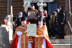 De orthodoxe kerk Royalty-vrije Stock Afbeeldingen