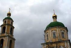 De Orthodoxe Kerk in het gebied van Domodedovo Moskou Royalty-vrije Stock Afbeelding