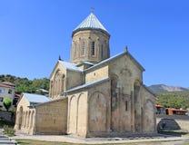 De Orthodoxe Kerk van de Transfiguratie van Samtavro Stock Fotografie