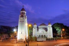 De Orthodoxe Kerk van Iosefin, Timisoara, Roemenië Royalty-vrije Stock Afbeeldingen