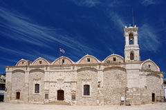 De orthodoxe kerk van Pegeia in Cyprus Royalty-vrije Stock Afbeeldingen