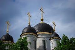De orthodoxe Kerk van Tver   Stock Afbeeldingen