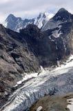 De Ortles gletsjer, Bolzano - Italië Stock Fotografie