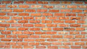 De oude Achtergrond van de Bakstenen muur De bouwtextuur Rode bakstenen muurachtergronden royalty-vrije stock foto