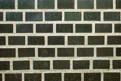De oude Achtergrond van de Bakstenen muur De textuur van Grunge Zwarte behang Donkere oppervlakte Royalty-vrije Stock Afbeelding