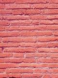 De oude achtergrond van de Bergenrots, de hoogste mening van de bakstenen muurtextuur royalty-vrije stock afbeeldingen
