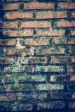 De oude Achtergrond van de Bakstenen muur Royalty-vrije Stock Foto's