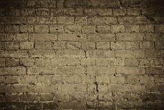 De oude Achtergrond van de Bakstenen muur Stock Foto