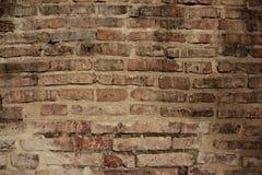 De oude Achtergrond van de Bakstenen muur Royalty-vrije Stock Fotografie