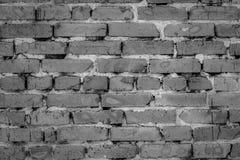 De oude Achtergrond van de Bakstenen muur Zwart behang Stock Foto's