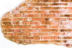 De oude achtergrond van de bakstenen muurtextuur Royalty-vrije Stock Afbeelding