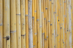 De oude achtergrond van de bamboemuur royalty-vrije stock fotografie