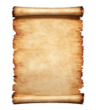 De oude Achtergrond van de Brief van het Document van het Perkament Stock Fotografie