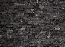 De oude achtergrond van de grunge donkere bakstenen muur de beeldachtergrond, perfectioneert voor uw presentaties Royalty-vrije Stock Foto