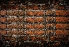 De oude achtergrond van de grungebakstenen muur Royalty-vrije Stock Afbeelding
