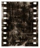 De oude achtergrond van de grungefilm Stock Foto's
