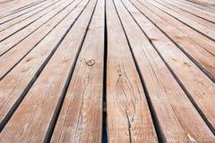 de oude achtergrond van de houtvloer Stock Fotografie