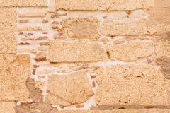 De oude Achtergrond van de Muur van de Steen Stock Foto's