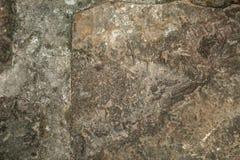 De oude achtergrond van de steenmuur, dichte omhooggaand van de bakstenen muur grunge textuur Royalty-vrije Stock Fotografie