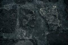 De oude achtergrond van de steenmuur, dichte omhooggaand van de bakstenen muur grunge textuur Stock Afbeelding