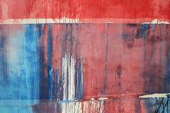 De oude achtergrond van de grunge kleurrijke muur Royalty-vrije Stock Foto's