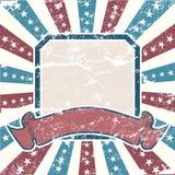 De oude Amerikaanse Achtergrond van Kleuren Royalty-vrije Stock Foto