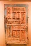 De oude antiquiteiten van de huisdeur - het Museum van Sharjah Stock Afbeelding