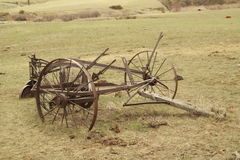 De oude Apparatuur van het Landbouwbedrijf Stock Foto's