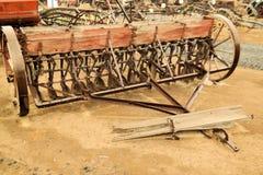 De oude Apparatuur van het Landbouwbedrijf Royalty-vrije Stock Fotografie