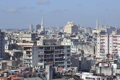 De oude architectuur van Havana in Cuba Stock Foto