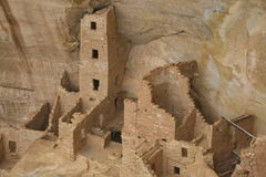 De oude Architectuur van Mesa Verde Royalty-vrije Stock Afbeeldingen