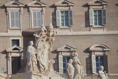 De oude Architectuur van Rome Royalty-vrije Stock Afbeeldingen