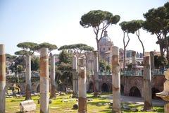 De oude Architectuur van Rome Stock Afbeelding