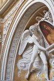 De oude Architectuur van Rome en Beeldhouwwerken, Rome Royalty-vrije Stock Fotografie