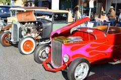 De oude Auto's tonen Royalty-vrije Stock Fotografie