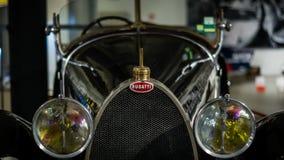 De oude auto van Bugatti Royalty-vrije Stock Afbeeldingen