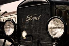 De oude auto van de Doorwaadbare plaats Royalty-vrije Stock Foto