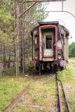 De oude Auto van de Trein royalty-vrije stock fotografie