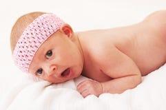 De Oude Baby van één Maand Royalty-vrije Stock Fotografie