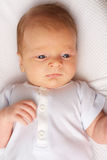 De Oude Baby van één Maand Stock Afbeelding