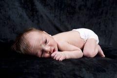 De Oude Baby van één Week Royalty-vrije Stock Foto's
