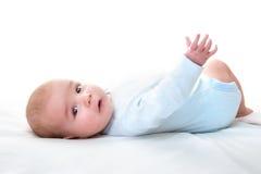 De Oude Baby van drie maanden Stock Foto